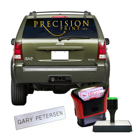 Specialty Products from Precision Print
